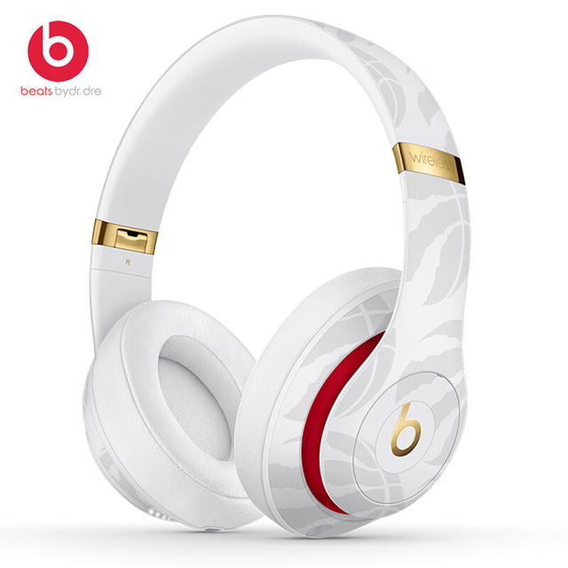 Beats Studio 3 Wireless Bluetooth Headphones Over-Ear Headset NBA Collection Pure ANC Noise Canceling Music Earphones with Mic