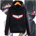 Anime Tokyo Ghoul Ken Kaneki Mask Printed Hoodies New 2017 Fleece Hooded Pullovers Unisex Mens Hoody Free Shipping