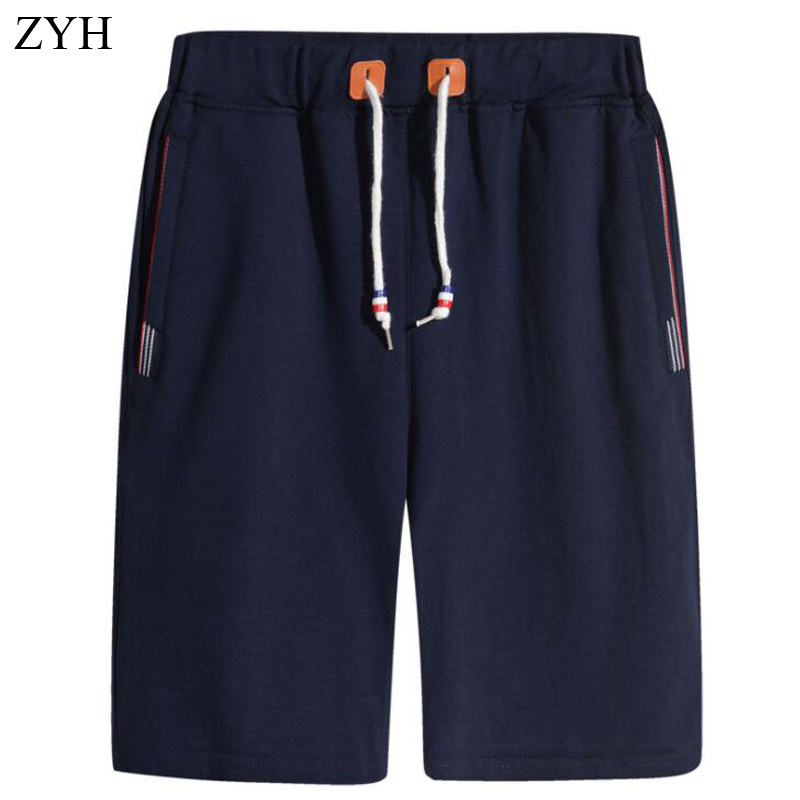 Mens short summer Casual Drawstring Waist Flax Straight Half Pans Beach Breeches Linen Shorts Elastic Lacing Hot
