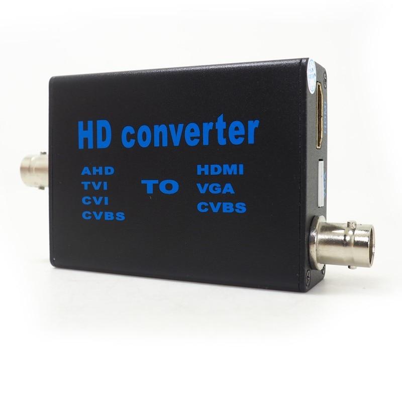 Direto da fábrica 4 em 1 conversor de sinal de vídeo de alta definição ahd41