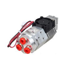 3D printer remote 3 in 1 out extruder kit 24V fan 1.75mm filament compatible with V6/bulldog/titan Mix 3 colors metal extrusion