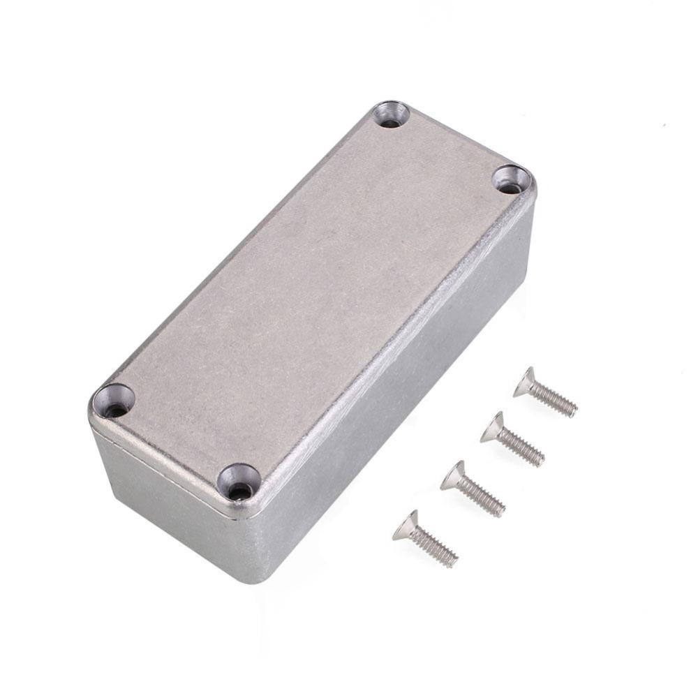 1590A Diecast Metal Enclosure Pedal Stomp Case for DIY Guitar Effect Pedal  Guitar Bass Accessories