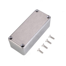 1590A Diecast Metal Enclosure Pedal Stomp Case for DIY Guitar Effect Pedal  Guitar Bass Accessories