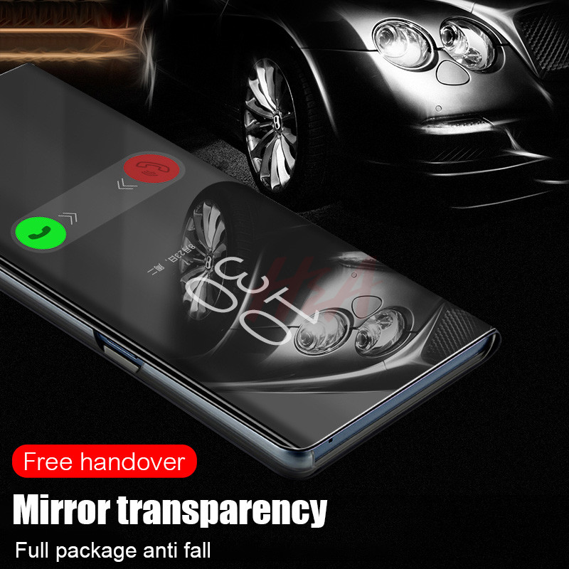 Image 4 - H&A Mirror Flip Case For Xiaomi Redmi Note 7 5 6 K20 Pro 4X 5A 6A 5 Plus S2 Cover For Mi 9T 9 8 SE A1 A2 Mix 2 Phone Case-in Flip Cases from Cellphones & Telecommunications