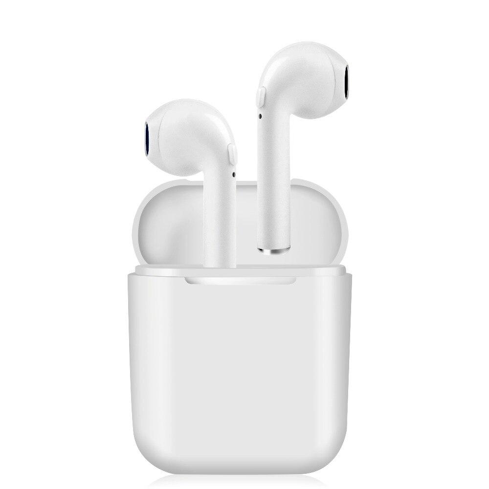 TOP i9V 6 H Vero cuffie Senza Fili Bluetooth 5.0 TWS Clear bass Auricolari stereo del trasduttore auricolare con il mic per iphone8 X samsung VS I9S