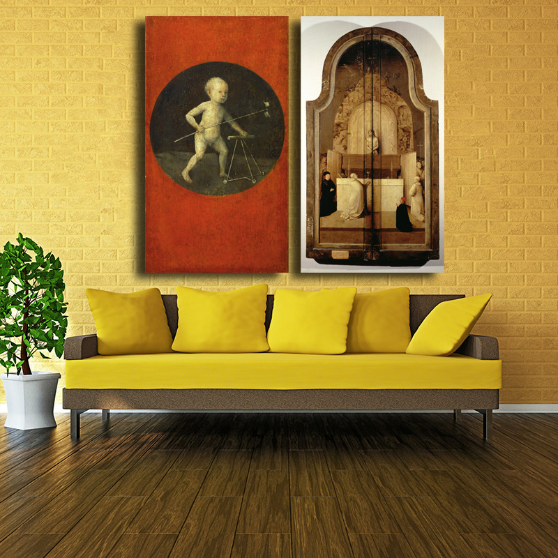 2017 Hot Sall Artwork Painting The Garden Of Earthly Delights Hieronymus  Bosch Silk Poster Decor Free Shipping  In Painting U0026 Calligraphy From Home  U0026 Garden ...