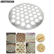 37 Holes Ravioli dumplings Tool maker mold Aluminum Samosa Cooker russian pelmeni maker Dumplings Making Mold