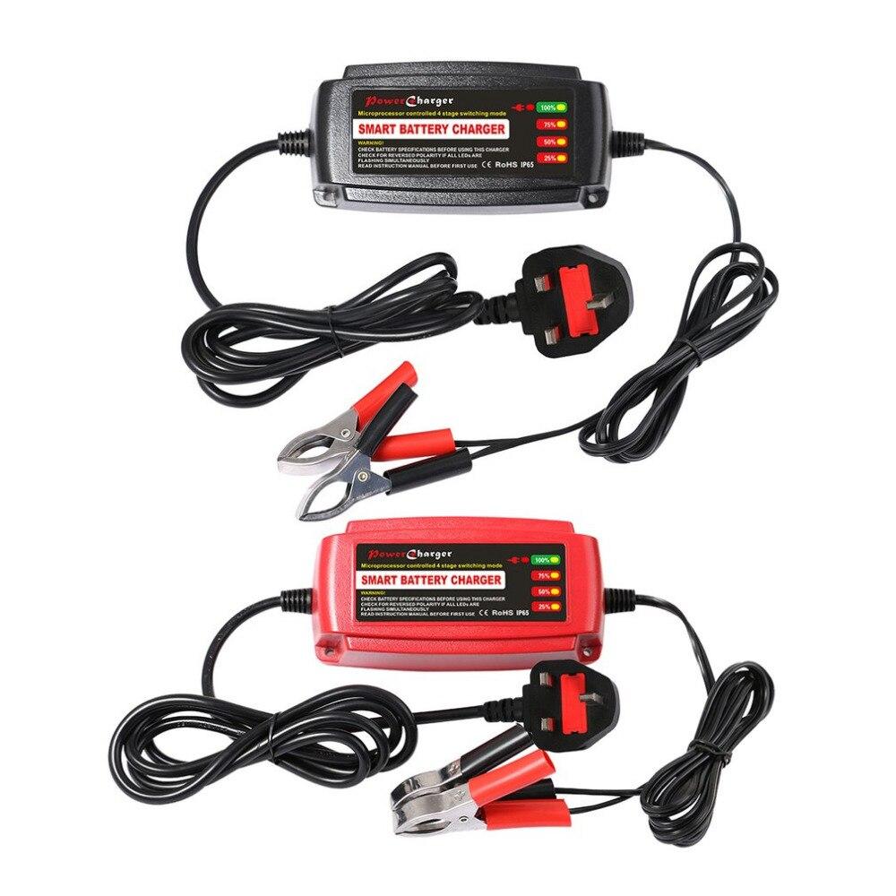 12 В 5A автомобиль <font><b>smart</b></font> свинцово-кислотная Батарея Зарядное устройство автомобильный аккумулятор Зарядное устройство автомобиля 4 этап режима&#8230;