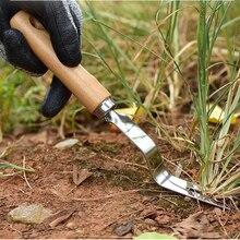 Садовая Обрезка ручной инструмент трансплантация прополка вилка деревянная ручка тяга Grubber копания легкий ручной гаджет для удаления