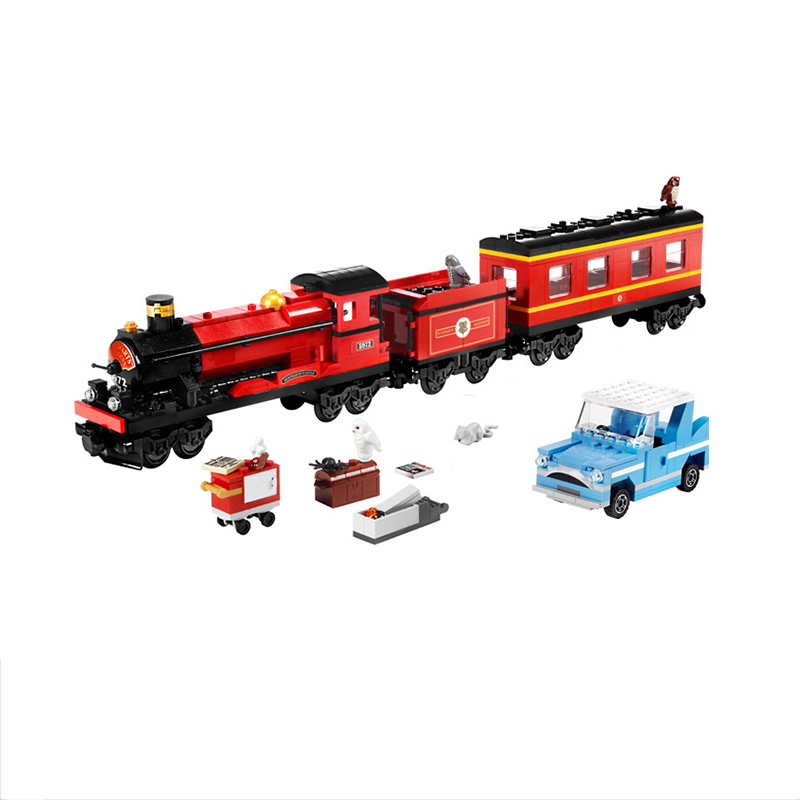 Lepin 16031 Hogwart's Express Train Building Block 4841 Creative Toys For Children Christmas Gift Legoings 724Pcs lepin 22001 pirate ship imperial warships model building block briks toys gift 1717pcs compatible legoed 10210