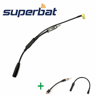 Superbat FM AM To DAB DAB FM Car Radio Aerial Splitter With RAST II Aerial Adaptor