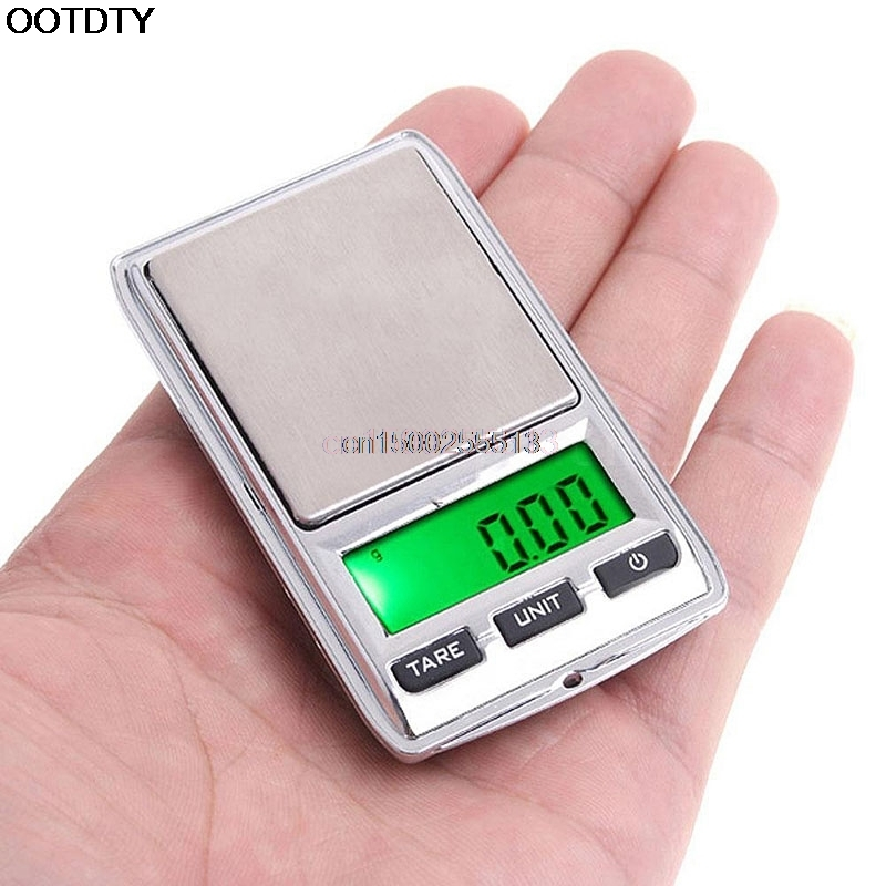 Mini <font><b>Pocket</b></font> <font><b>Scale</b></font> 100g/0.01 LCD <font><b>Digital</b></font> Jewelry Dual Weight Electronic image