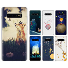 little prince and the fox Silicone case for Samsung Galaxy S8 S9 S10 S10 Plus M10 M20 S6 S7 edge TPU Soft Phone cases cover(China)