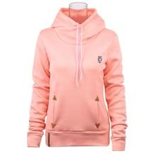 Hoodies Women 2018 Brand Female Long Sleeve Solid Color Hooded Sweatshirt Hoodie Tracksuit Sweat Coat Casual Sportswear XXXL