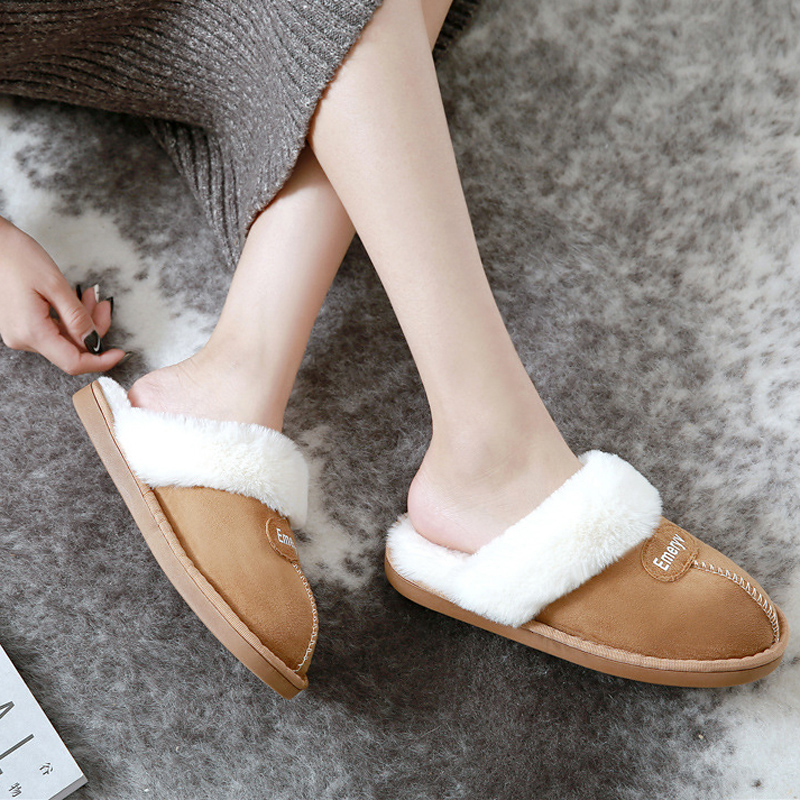 Women House Slippers Plush Winter Warm Shoes Woman Comfort Coral Fleece Memory Foam Slippers House Shoes for Indoor Outdoor Use 1