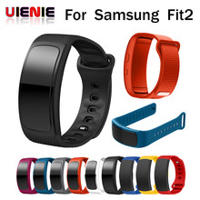 Factory price Wristband Luxury sport Silicone Watch Replacement Band wrist Strap watchband For Samsung Gear Fit 2 SM-R360 watch