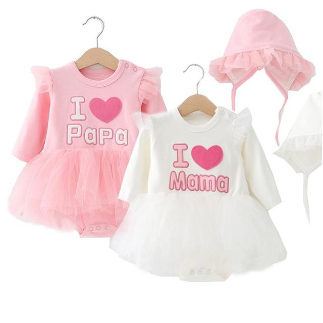9dcb787777d9 New born baby dress clothes female baby clothes dress triangle ...
