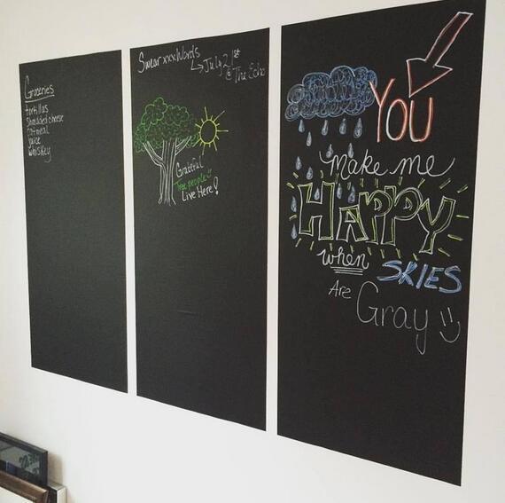 Chalk Board Blackboard 60x200cm 8
