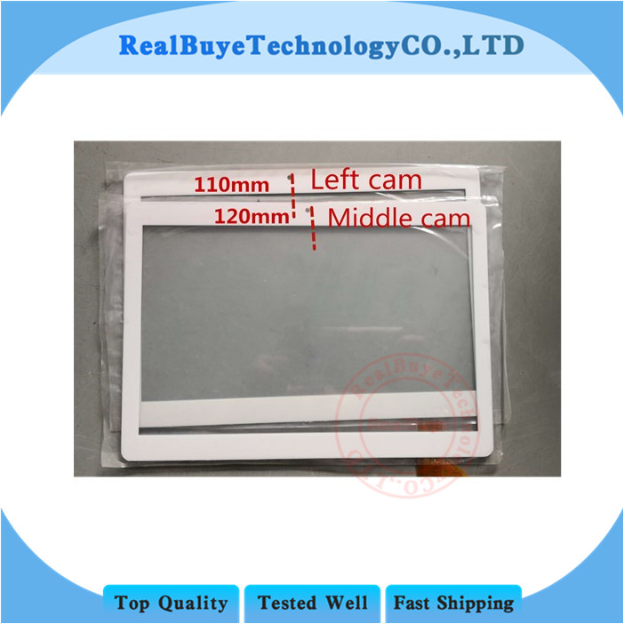 A+ New 10 inch Touch Screen Digitizer Sensor for Teclast X10 MT6580 tablet pc Replacement Parts 236X167mm
