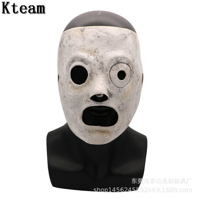 New 2019 Funny Movie Slipknot Cosplay Mask Event Corey Taylor Cosplay Latex Mask TV Slipknot Mask Party Bar Costume Props Adult