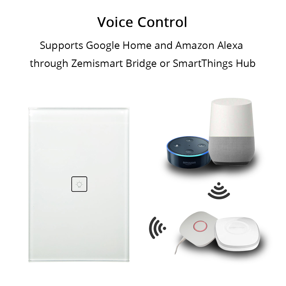 Zigbee One Gang Wall Light Switch Work With Amazon Alexa Google Home How Does A High Quality Durable Wear Bib Pants Mens Tooling Uniform Jumpsuits Loose Casual Overalls