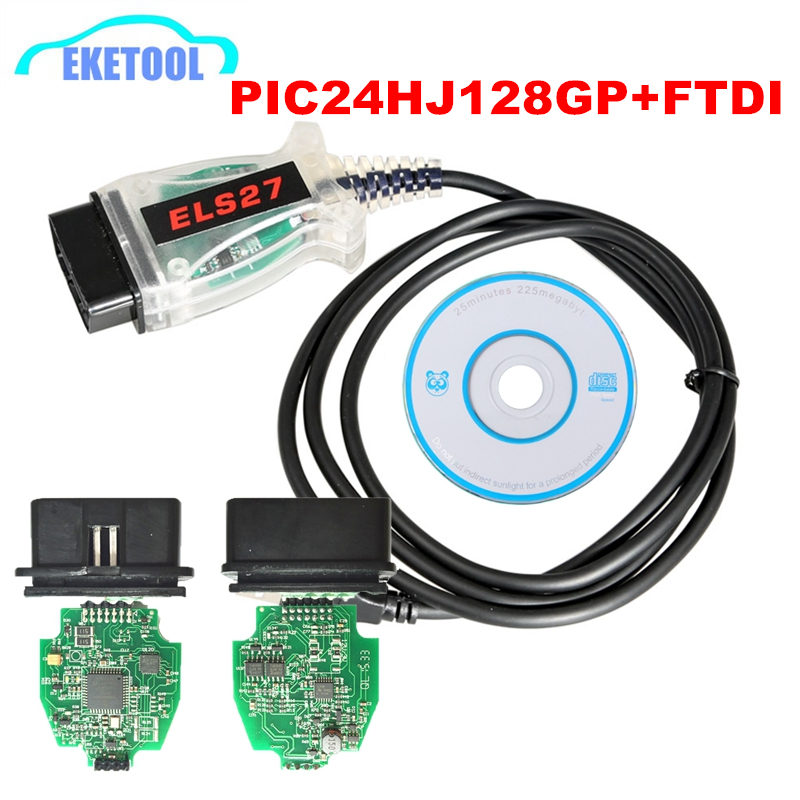 V2.3.8 Newest ELS27 FORScan PIC24HJ128GP+FTDI Microchip For Ford/Mazda/Lincoln/Mercury Designed Work Over ELM327&J2534 ELS 27