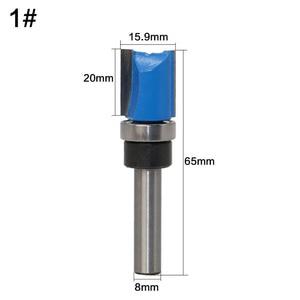 Image 3 - Mèches de toupie pour travail du bois de qualité industrielle avec roulements, mèches de toupie pour travail du bois de qualité supérieure, tige de 8mm, 1 pièce