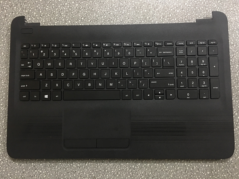 US $75 0 |New Original For HP TPN C125 TPN C126 HQ TRE RTL8723BE Laptop  Palmrest Keyboard Cover Black-in Laptop Bags & Cases from Computer & Office  on