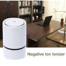 Ионизатор очиститель воздуха для дома генератор отрицательных ионов AC220V удалить формальдегида дым очистки пыли pm2.5