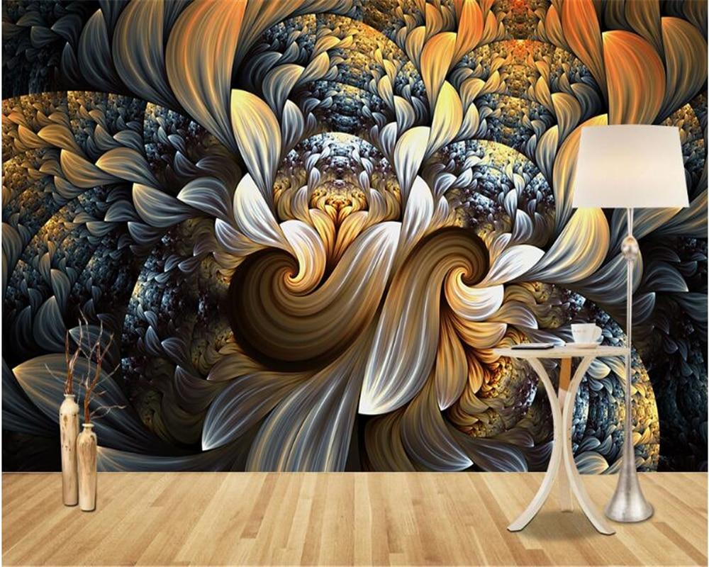 beibehang Dream fashion three-dimensional papel de parede 3d wallpaper European modern minimalist dazzling abstract background