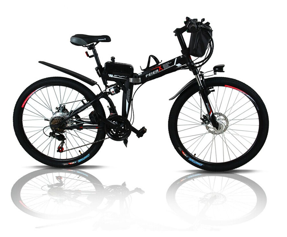 Freeshipping24 and 26 inches electric folding bicycle lithium