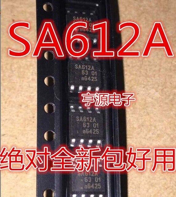5pcs/lot SA612AD NE612AD SA612 NE612 SOP-8 In Stock