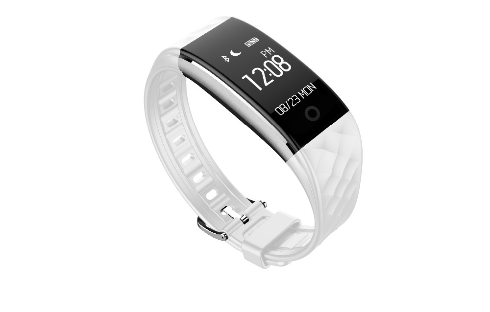 Smartch Bluetooth Smart Band S2 Wristband Heart Rate Monitor IP67 Waterproof Smartband Tracker Bracelet For Android