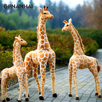 1pc 100/120cm Giant Size Cute Simulation Giraffe Plush toy Stuffed Soft Animal Dolls for Children Home Decor Birthday Gift