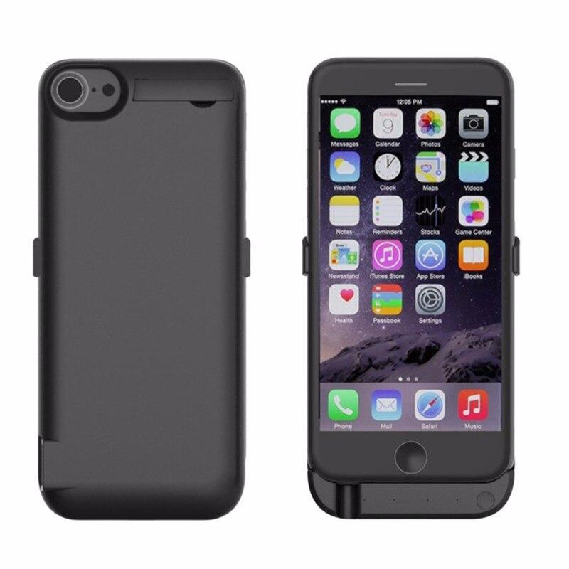 imágenes para 10000 mah caso del cargador de batería de energía para apple iphone 7 Cubierta Paquete de Energía de reserva Caja de Batería Banco de la Energía Inteligente Para iPhone7