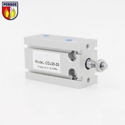 CU CDUK 20 nemokamas montavimo cilindras, skylė: 20 mm, eiga: 5/10/15/20/25/30/35-Dmm