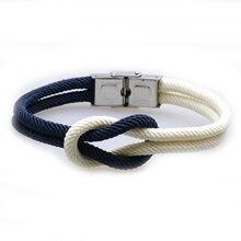Новые очаровательные браслеты для женщин pulseira homme плетеные