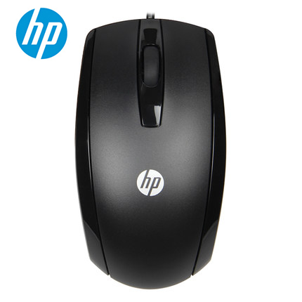 US $10 28 23% OFF|HP X500 Optical Wired USB Mouse Black 3 Buttons Windows  XP Vista 7 8 10 Mac USB Mice-in Mice from Computer & Office on