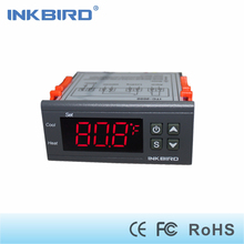 Inkbird ITC-2000 One Relay and One Alarm Output Digital Temperature Controller Degree F and C Thermostat with Sensor