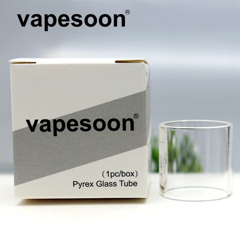 3pcs Original vapesoon Replacement Pyrex Glass Bubble Glass Tube for KAEES <font><b>Solomon</b></font> <font><b>2</b></font> <font><b>RTA</b></font> 5ml/3.5ml Capacity Tank Atomizer image