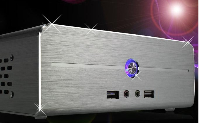 Desktop Computer I3 4G 500G Aluminum Htpc Mini Pc Hd Mini Host New Arrival Q8 Training