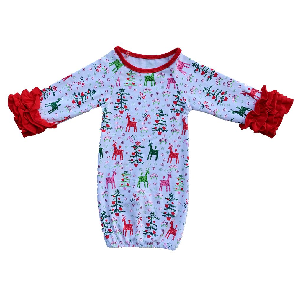 e388f6bb12b8d Best Gift Ever Newborn Baby gown Unisex first Halloween christmas Baby boy  Girl Coming home outfit Monogram Baby Shower Gift-in Sleepsacks from Mother  ...