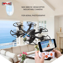 2 4G 4CH 6 Axis MJX X800 rc drone quadcopter helicopter with C4005 HD FPV WIFI