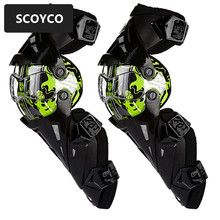SCOYCO 1pair Motorcycle Knee Pad CE Motocross Knee Guards Motorcycle Protection Knee Motor-Racing Guards Safety Gears Race Brace
