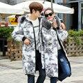 Moda das mulheres Casacos de Inverno e Jaquetas Amante Conformidade Com casaco de gola de pele casaco de inverno dos homens Jaquetas masculinas Outerwears