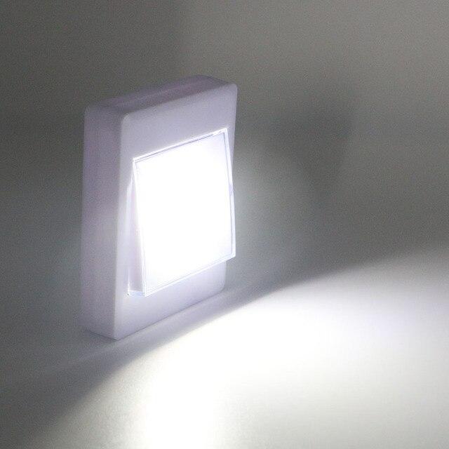 COB Led Schakelaar Nachtlampje Lampen Slaapkamer Lamp Badkamer Licht ...