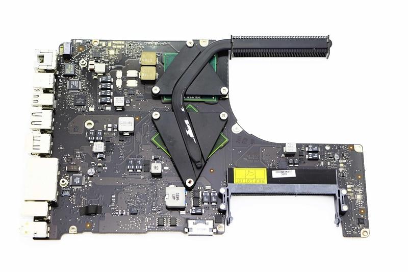 HoTecHon carte mère 820-2533-B avec P8700 2.53 GHz CPU pour Macbook Pro A1286 2009 MC118 15