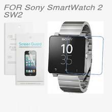 Für Sony SmartWatch 2 SW2, Neue 2014 10x CLEAR Displayschutzfolie Für Sony SmartWatch 2 SW2 + Reinigung tuch