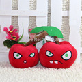 Free Shipping Plants Vs Zombies Series Plush Toy 1pcs Double Cherry Bomb 14cm Tall Great for Collection