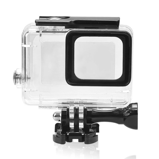 NEW Camera Accessories Plastic Underwater Case Waterproof Housing Case Protecting Cover Shell For Gopro Hero 5